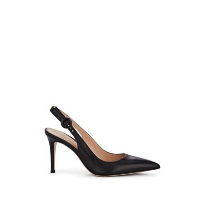 Anna Leather Slingback Pumps UQEYKIO