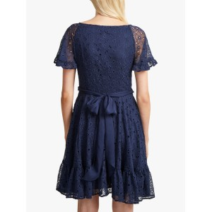 French Connection Circeela Dress Indigo  VVRHWWT