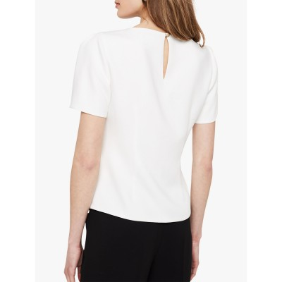 Damsel in a Dress Ciana Blouse Ivory/Black NVQNHIZ
